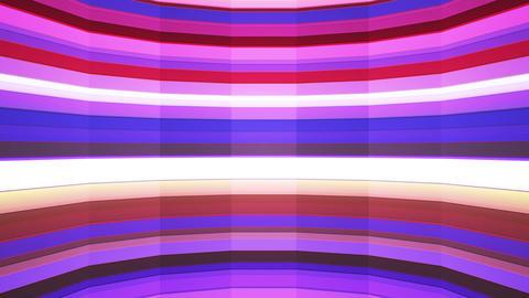 Broadcast Twinkling Horizontal Hi-Tech Bars Shaft, Multi Color, Abstract,Loop,HD Animation