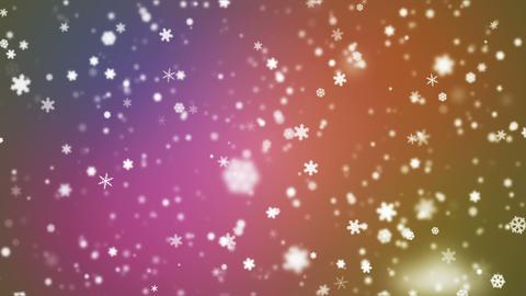 Broadcast Snow Flakes 09 Animation