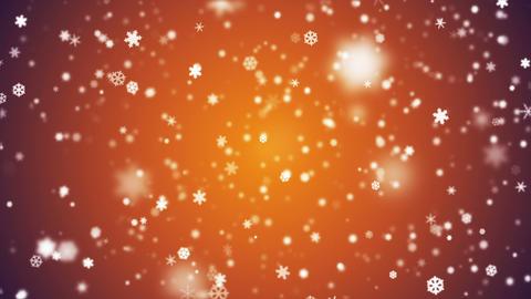 Broadcast Snow Flakes 10 Animation