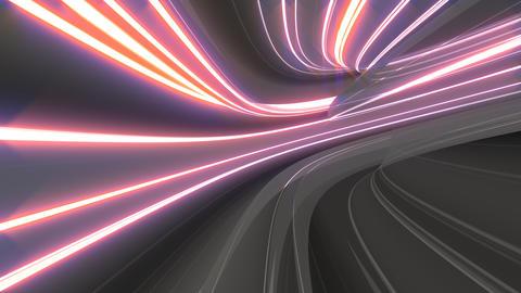 Warp Speed Travel Animation