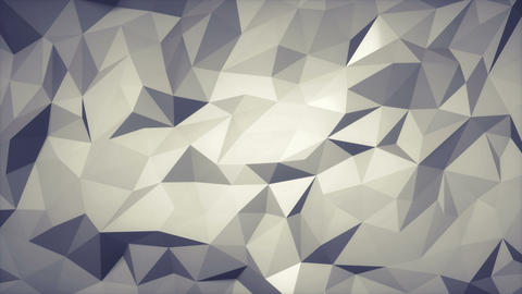 Low poly slowly changing background. Loop able Animation