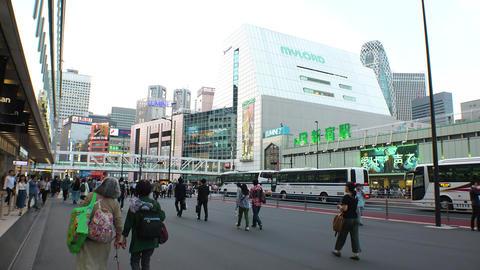 Japan Tokyo Shinjuku South gate October 2017 ライブ動画