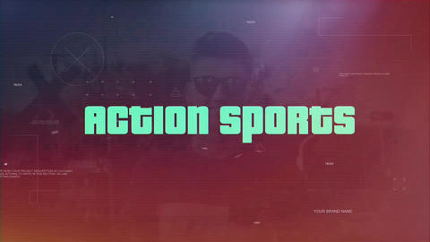 Action Sports After Effects Template