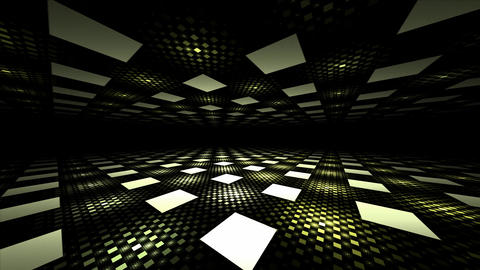 3D seamless illusion perspective geometric background Animation