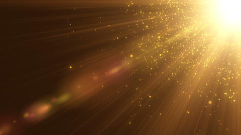 Gold Particles seamless background Footage