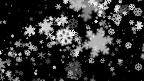 Broadcast Snow Flakes 16 Animation