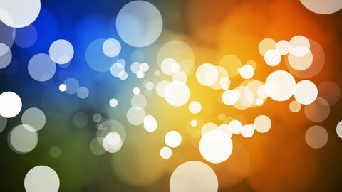 Broadcast Light Bokeh, Multi Color, Events, Loopable, HD Animation