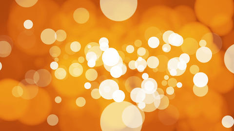 Broadcast Light Bokeh, Orange Golden, Events, Loopable, HD Animation