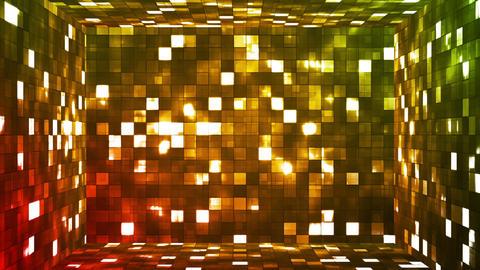 Broadcast Firey Light Hi-Tech Squares Room 05 Animation