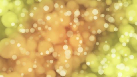 Broadcast Light Bokeh, Yellow Orange, Events, Loopable, HD Animation