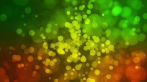 Broadcast Light Bokeh, Orange Green, Events, Loopable, HD Animation