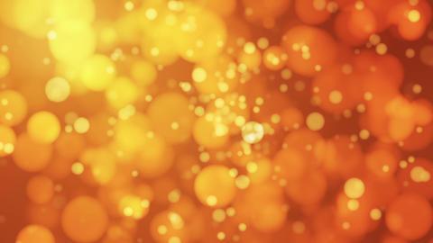 Broadcast Light Bokeh, Golden Orange, Events, Loopable, HD Animation