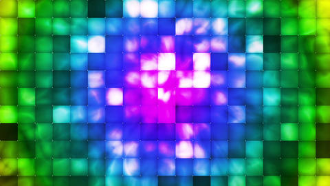 Broadcast Abstract Hi-Tech Smoke Tile Patterns, Multi Color, Abstract, Loop, HD Animation