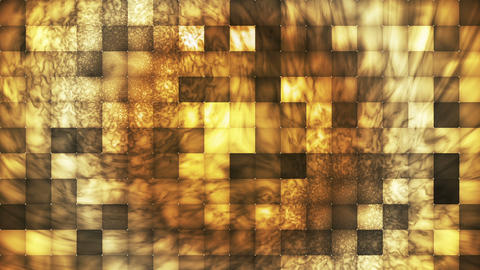 Broadcast Abstract Hi-Tech Smoke Tile Patterns, Brown Yellow, Abstract, Animation