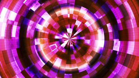 Twinkling Hi-Tech Grunge Flame Tunnel, Multi Color, Industrial, Loopable, HD Animation