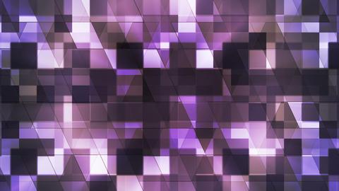 Twinkling Hi-Tech Squared Diamond Light Patterns, Purple, Abstract, Loopable, HD Animation