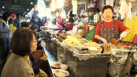 Korea Seoul Gwangjang market December 2017 영상물