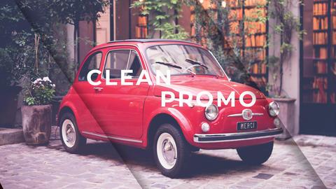 Clean Parallax Slideshow Premiere Pro Template