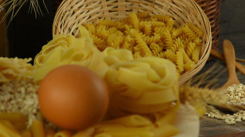 Macaroni Pasta Pastry Footage