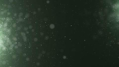 Particles dust abstract light motion titles cinematic background loop Animación