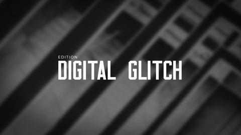 Titles Animator - Digital Glitch Reveal Premiere Pro Template