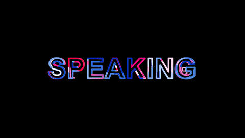 Letters are collected in text SPEAKING, then scattered into strips. Bright Animation