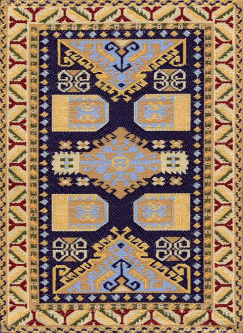 Anitque Anatolia Persia Carpet Nostalgia Texture Background Foto