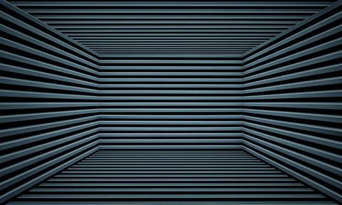 Abstract Urban Interior Metallic Room Stage Background Texture Photo