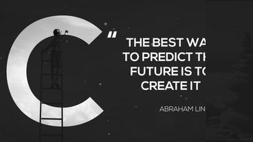 Alphabet Quotes After Effects Template