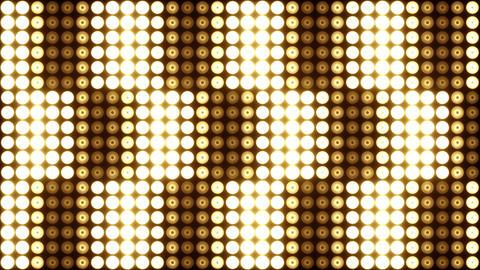 Lights Wall Flashing CG動画素材