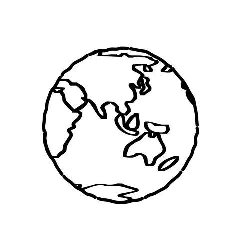 Cartoon Earth Animation