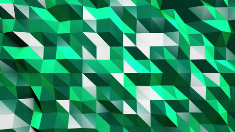 4K Lowpoly Abstract Seamless Looping Motion Background 1 Animation