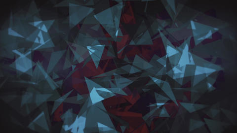 4K Lowpoly Triangles Background Animation 12 Animation