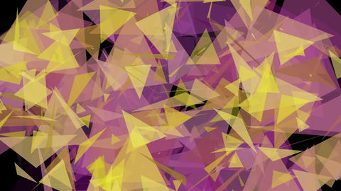 4K Lowpoly Triangles Background Animation 15 Animation