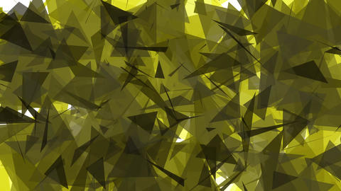 4K Lowpoly Triangles Background Animation 3 Animation