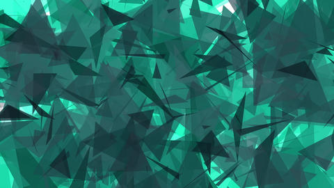 4K Lowpoly Triangles Background Animation 5 Animation
