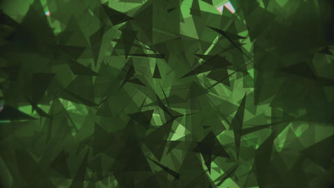 4K Lowpoly Triangles Background Animation 8 Animation