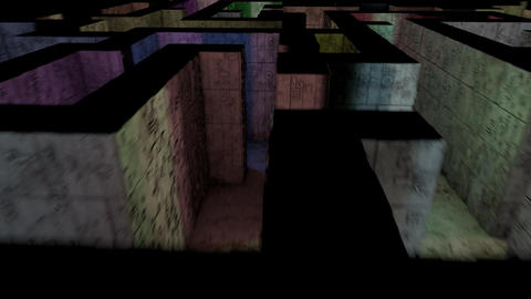 4K Mysterious Fantasy Enigmatic Maze Labyrinth 3D Animation 13 Animation