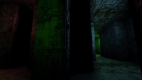 4K Mysterious Fantasy Enigmatic Maze Labyrinth 3D Animation 6 Animation
