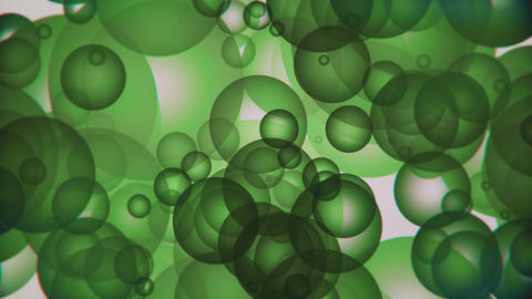 4K Spheres Background Animation 6 Animation