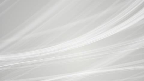 Abstract grey smooth elegant waves video animation Animation