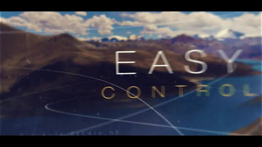 3D parallax image opening display AE template with epic style After Effectsテンプレート
