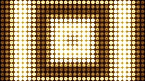 Wall of Lights Vj Loops Stock Video Footage