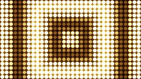 Wall of Lights Vj Loops, Stock Animation