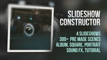 Slideshow Constructor Premiere Pro Template