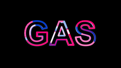 Letters are collected in text GAS, then scattered into…, Stock Animation