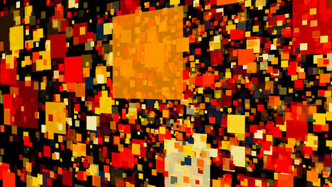 Abstract background with colorful rectangles Live Action