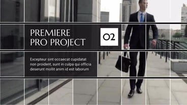 Square Corporate Premiere Premiere Pro Template