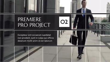 Square Corporate Premiere Premiere Pro Template