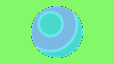 Attack ball effect CG動画素材